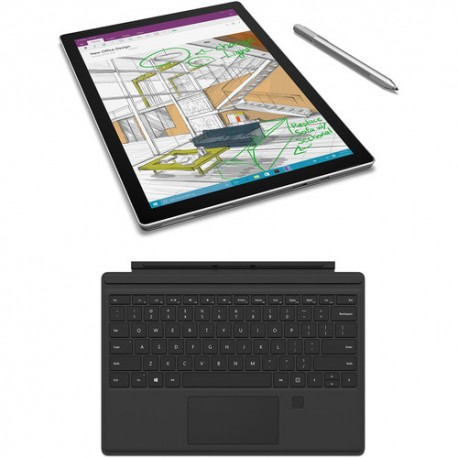 """Microsoft 12.3"""" Surface Pro 4 128GB Multi-Touch Tablet (Silver)"""