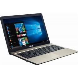"""Asus - VivoBook Max 15.6"""" Intel Pentium Laptop - Chocolate black"""