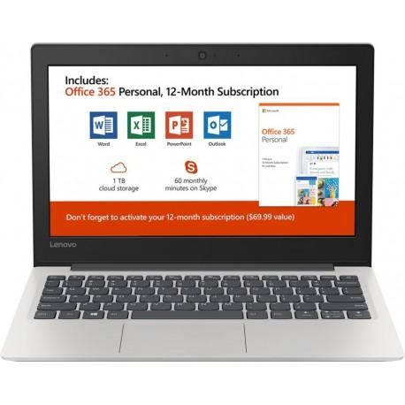 "Lenovo - 130S-11IGM 11.6"" Laptop - Intel Celeron - 4GB Memory - 64GB eMMC Flash Memory"