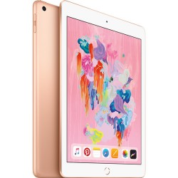 "Apple 9.7"" iPad (Early 2018, 32GB, Wi-Fi + 4G LTE, Gold) Unlocked"