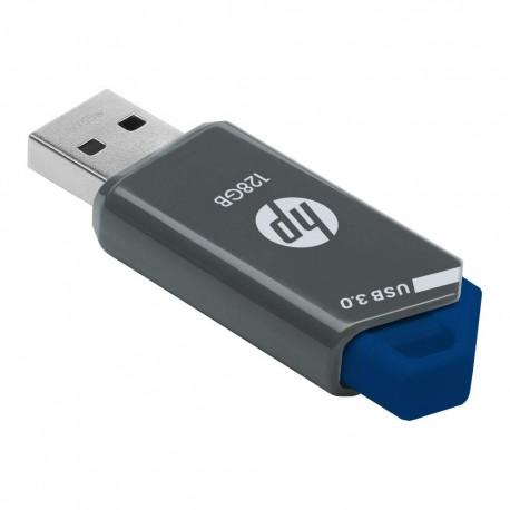 HP - 128GB USB 3.0 Flash Drive - Black